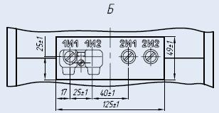 Вторичные контакты трансформатора трансформатора ТПЛК-10