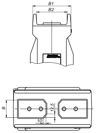 Общий вид трансформатора ТОЛ-10-IM-2 на токи 1200 - 2000А